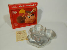 Vintage Wilton Mickey Mouse Cake Pan Mold instructions 1974 Band Leader 515-302