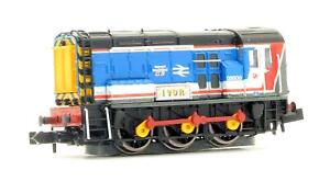 GRAHAM FARISH 'N' GAUGE 371-023 CLASS 08 600 NETWORK SOUTHEAST DIESEL SHUNTER