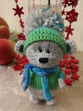 Amigurumi. Knitted toy. HANDMADE. mouse