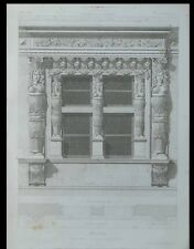 NARBONNE, MAISON DES TROIS NOURRICES - 1869 - GRAVURE ARCHITECTURE - CROISEE