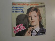 """DAVID BOWIE: Laughing Gnome- Gospel According To Tony Day-France 7"""" 67 Deram PSL"""