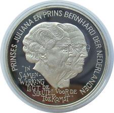 Niederlande 25 Ecu 1994, Juliana und Bernhard, Silber, PP