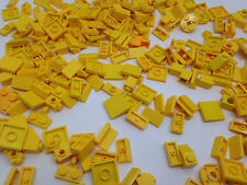 LEGO - 100 YELLOW Pieces Bits Cone, Plate, Pins