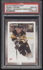 2016-17 Canada Post Sidney Crosby Great Canadian Forwards PSA 10