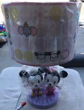 RARE Mickey Minnie Cutie Lamp Disney Donald Daisy Chip Dale Dumbo Lamp Shade
