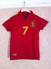 Raúl España 7 Camiseta de fútbol jersey trikot maglia para niños Niños Chicos España