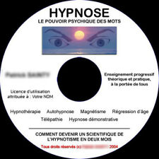 FORMATION A L'HYPNOSE THERAPIE ET SPECTACLE, AUTOHYPNOSE, REGRESSION, MAGNETISME