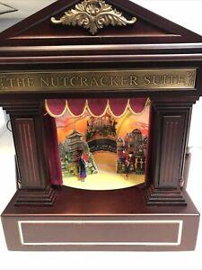 Mr. Christmas Nutcracker Suite Action/Lites 4 Scenes Music Box NOT WORKING