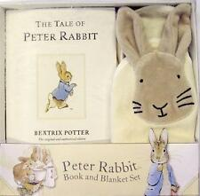 Peter Rabbit Book and Blanket Set 9780723265467 by Beatrix Potter Hardback