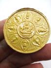 Bhavacakra+Thai+Buddha+Wheel+of+Life+Jatukam+Amulet+Gambling+Lotto+Yellow+5587_2