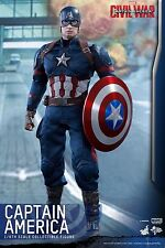 HOT TOYS  - CAPTAIN AMERICA from Civil War  MMS350 - 1:6 Scale