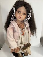 """WILLIAM TUNG COLLECTIBLE VINYL 25"""" DOLL FROM TUSS  #46/300"""