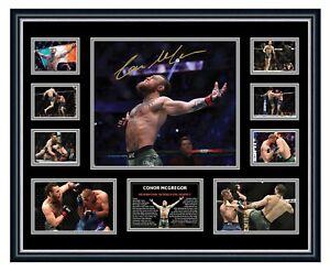 CONOR MCGREGOR UFC 246 2020 COMEBACK SIGNED LIMITED EDITION FRAMED MEMORABILIA