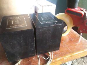McIntosh Autoformer PAIR from MC2105 MC2100 043-694 RARE PULLS