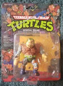Vintage 1989 TMNT GENERAL TRAAG Punched Ninja Turtles Playmates