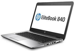 """HP Elitebook 840 G3 Intel Core i7-6500U 8GB 256GB SSD 14"""" FHD 1920x1080 Laptop"""