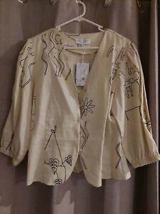 Jericho road top blouse sz14