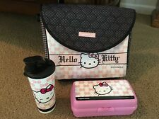 Tupperware Hello Kitty Lunch Bag Tumbler And Container