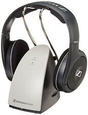 Sennheiser RS120 Wireless RF On Ear HEADPHONES CHARGING DOCK, Black FREE ship
