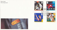 11 JUNE 1991 SPORT ROYAL MAIL FIRST DAY COVER HOUSE OF COMMONS CDS