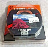 28mm UV HAZE Lens Glass Protector Safety Filter Guard Genuine Marumi Japan 28 mm