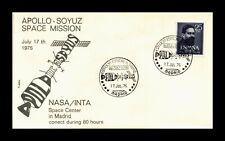 DR JIM STAMPS MADRID SPAIN APOLLO SOYUZ SPACE MISSION NASA COVER