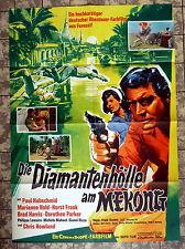 DIAMANTENHÖLLE AM MEKONG * A1-Filmposter - Ger 1-Sheet -1964 Abenteuer EUROSPY