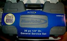 """Blue Point 26 piece 1/2"""" drive General Service Kit 326MBPGSS 6 point NEW unused"""