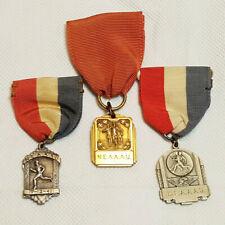 New England Association Amateur Athletics Union Medals Lot of 3