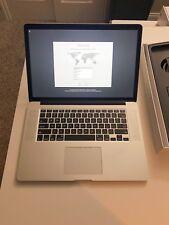 2015 Apple MacBook Pro.16GB RAM. i7 2.2 GHz processor. 256GB hard drive.
