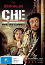 Che: Part One - The Argentine - Cuban Revolution - Benicio Del Toro - NEW DVD