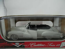 1:18 Anson - 1947 Cadillac Series 62 White Mint Boxed