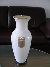 KPM Berlin Lampe Chinesische Form Weiß White Gold Trude Petri Berlin Wappen