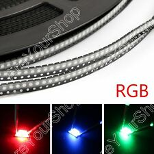 100Pcs 3528 RGB Lámpara SMD LED Diodes Emitting Strip Lámpara Non Waterproof
