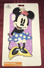 DISNEY PARKS D-TECH MINNIE MOUSE 3-D CASE COVER FOR iPHONE XS MAX NEW