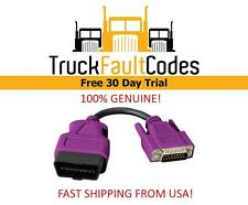 "442023 Nexiq USB Link ""Purple"" Cable for 2013 & Newer Volvo Mack OBDII WVL2 NEW"