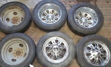 """19.5 Weld Racing Wheels Rims 8 lug 6.5"""" Dodge Ford Chevy Truck 1960-2010 Dually"""