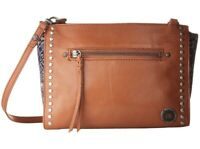 The Sak Women's Cabrillo Demi Crossbody Shoulder Brown Leather bag 151638