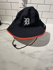 New Era Detroit Tigers Bucket Fishing Hat. New era authentic blue orange
