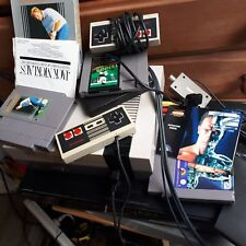 NES Nintendo Entertainment System Mattel Version 4 Games mario  terminator