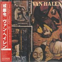 VAN HALEN - FAIR WARNING (1981/2008) Hard Rock CD Gatefold OBI+GIFT