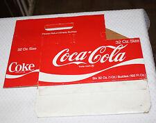 Vintage Coca Cola 32 Oz. Cardboard Carton Coke