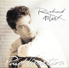 Richard Marx - Paid Vacation - CD - 12 Tracks - Capitol Records For BMG 1993