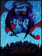 Fantasia Becky Cloonan Disney Never Grow Up Mondo Cyclops 2017 Poster Print Art