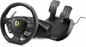 Thrustmaster T80 Ferrari 488 GTB Edition (PS4 / PC) Racing Simulator Wheel Black