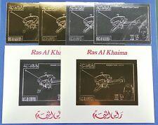 Raumfahrt Space 1972 Ras al-Khaima Pioneer A-B850 A/B + Block L-M144 MNH/765