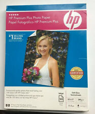HP Premium Plus Photo Paper 50 Sheets, 8.5 x 11 Inches New