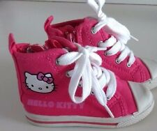 HELLO KITTY GIRLS PINK BASEBALL PUMP TRAINERS SHOE'S SIZE INFANT 6 NWOT