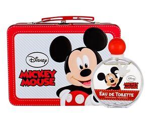 Fragrance Disney Mickey Mouse 100ml Eau De Toilette Metallic Box for kids