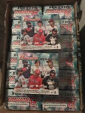 2018 Bowman Mega Box Factory Sealed Baseball Box Ohtani Acuna Chrome Refractor